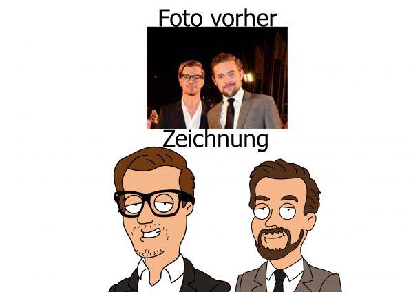 Joko und Klaas Family Guy Comic Zeichnung