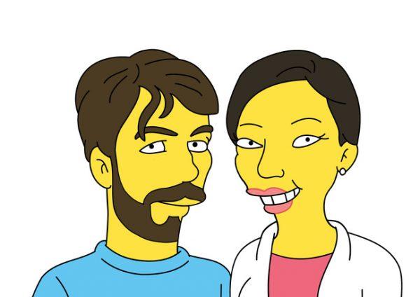 Simpsons zwei Personen