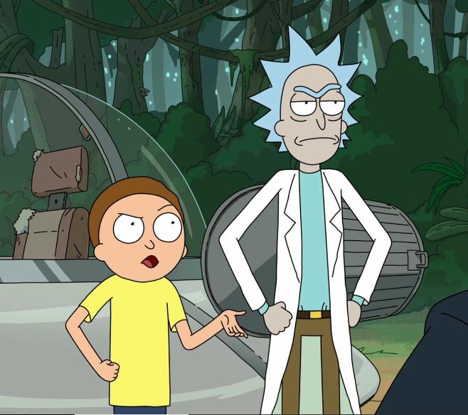 Rick And Morty Zeichnen